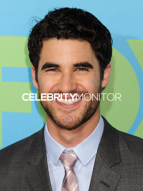 NEW YORK CITY, NY, USA - MAY 12: Darren Criss at the FOX 2014 Programming Presentation held at the FOX Fanfront on May 12, 2014 in New York City, New York, United States. (Photo by Celebrity Monitor)