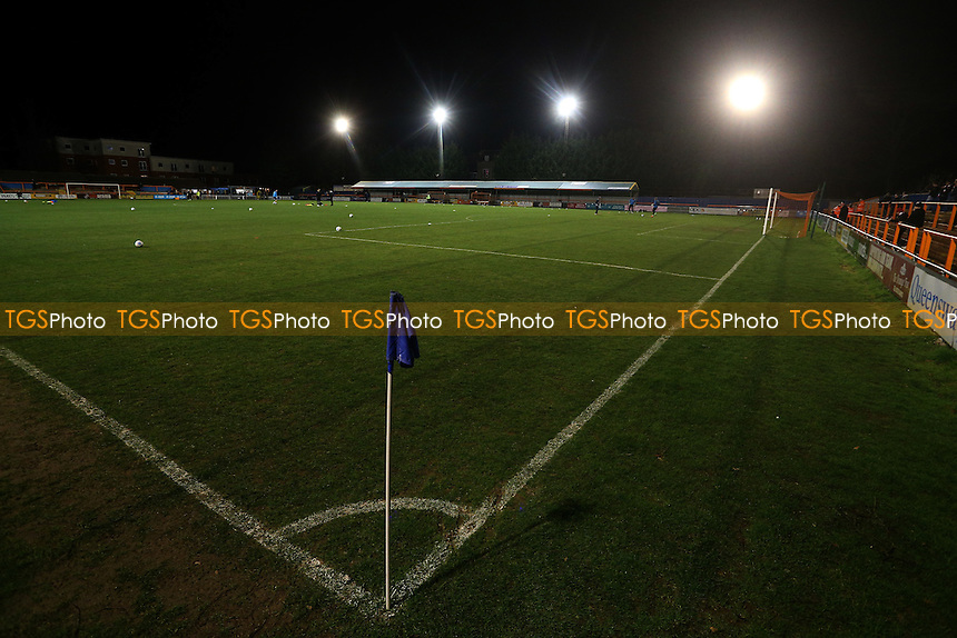 General view of the ground during Braintree Town vs Lincoln City, Vanarama National League Football at the IronmongeryDirect Stadium on 7th March 2017