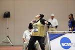 NAPERVILLE, IL - MARCH 11: SteaVen Becker of Nebraska Wesleyan University competes in the shot put at the Division III Men's and Women's Indoor Track and Field Championship held at the Res/Rec Center on the North Central College campus on March 11, 2017 in Naperville, Illinois. (Photo by Steve Woltmann/NCAA Photos via Getty Images)