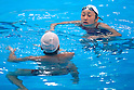 Mixed Synchronized Swimming Duet Training