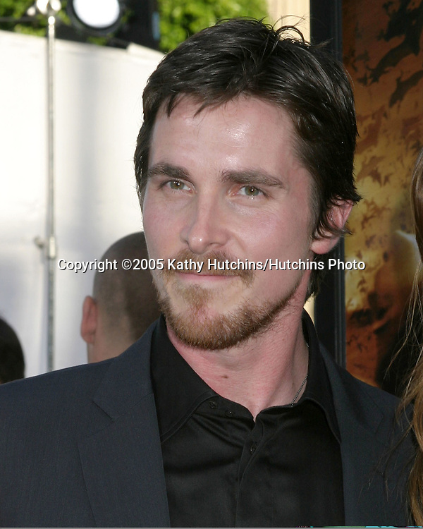 Christian Bale .Premiere of Batman Begins.Grauman's Chinese Theater.Los Angeles, CA.June 6, 2005.©2005 Kathy Hutchins / Hutchins Photo