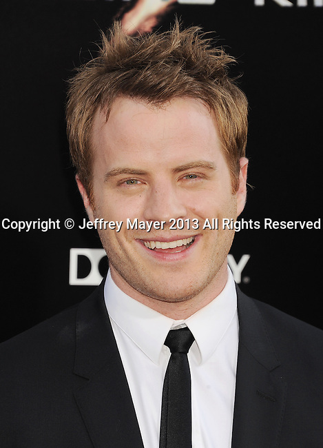 HOLLYWOOD, CA- JULY 09: Actor Rob Kazinsky arrives at the 'Pacific Rim' - Los Angeles Premiere at Dolby Theatre on July 9, 2013 in Hollywood, California.
