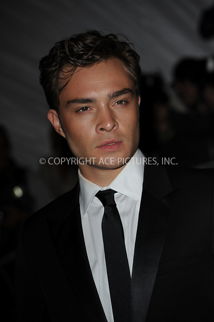 WWW.ACEPIXS.COM . . . . . ....May 4 2009, New York City....Ed Westwick arriving at 'The Model as Muse: Embodying Fashion' Costume Institute Gala at The Metropolitan Museum of Art on May 4, 2009 in New York City....Please byline: KRISTIN CALLAHAN - ACEPIXS.COM.. . . . . . ..Ace Pictures, Inc:  ..(212) 243-8787 or (646) 679 0430..e-mail: picturedesk@acepixs.com..web: http://www.acepixs.com