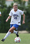 30 August 2009: Duke's Elisabeth Redmond. The Duke University Blue Devils lost 3-2 to the University of Central Florida Knights at Fetzer Field in Chapel Hill, North Carolina in an NCAA Division I Women's college soccer game.
