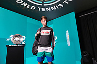 Rotterdam, The Netherlands, 11 Februari 2019, ABNAMRO World Tennis Tournament, Ahoy, first round match: Peter Gojowczyk (GET)<br /> Photo: www.tennisimages.com/Henk Koster