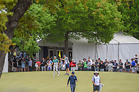 Sergio Garcia (ESP) after sinking his putt to win the hole on 6 during day 4 of the WGC Dell Match Play, at the Austin Country Club, Austin, Texas, USA. 3/30/2019.<br /> Picture: Golffile | Ken Murray<br /> <br /> <br /> All photo usage must carry mandatory copyright credit (© Golffile | Ken Murray)