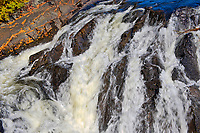 Detail of River aux Sables <br />