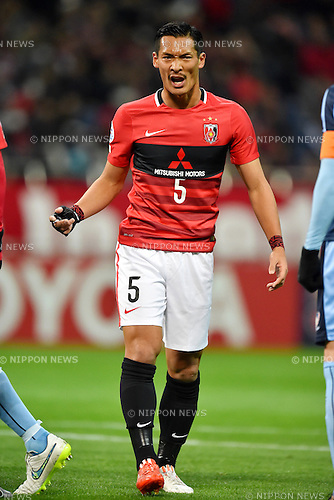 Tomoaki Makino (Reds),<br /> FEBRUARY 24, 2016 - Football / Soccer :<br /> AFC Champions League Group H match between Urawa Red Diamonds 2-0 Sydney FC at Saitama Stadium 2002 in Saitama, Japan. (Photo by AFLO)