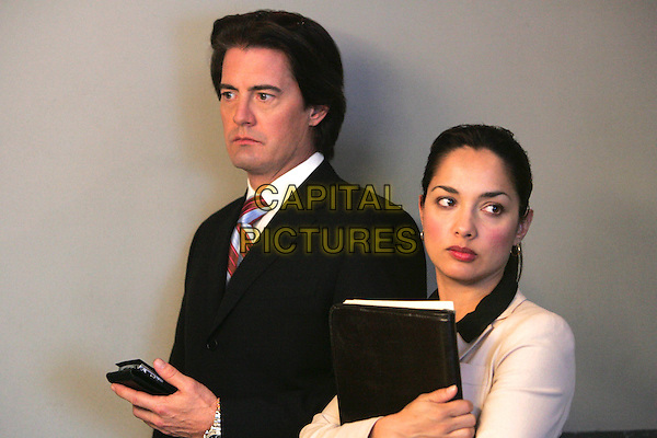 KYLE MACLACHLAN & LARISSA GOMES.in In Justice.*Editorial Use Only*.www.capitalpictures.com.sales@capitalpictures.com.Supplied by Capital Pictures.