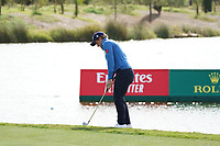 Paul Dunne (IRL) during Wednesday Pro-Am of the Portugal Masters, Dom Pedro Victoria Golf Course, Vilamoura, Vilamoura, Portugal. 23/10/2019<br /> Picture Andy Crook / Golffile.ie<br /> <br /> All photo usage must carry mandatory copyright credit (© Golffile | Andy Crook)