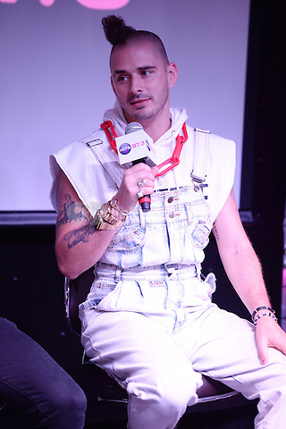 HOLLYWOOD, FL - JUNE 11: Cole Whittle of DNCE visits radio station Hits 97.3 on June 11, 2016 in Hollywood, Florida. Credit: mpi04/MediaPunch
