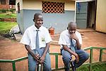 Alex is in Jinja college now, Uganda.
