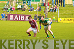 Kerry's Rona?n O? Flatharta and Galway's Mathew Clancy.