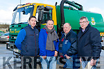 Johnny Sheehan, Monavalley, Tralee, retires from Kerry County Council  on Monday. Pictured Chris Shortt, Johnny Sheehan, Chris Malloy and Murty Quirke