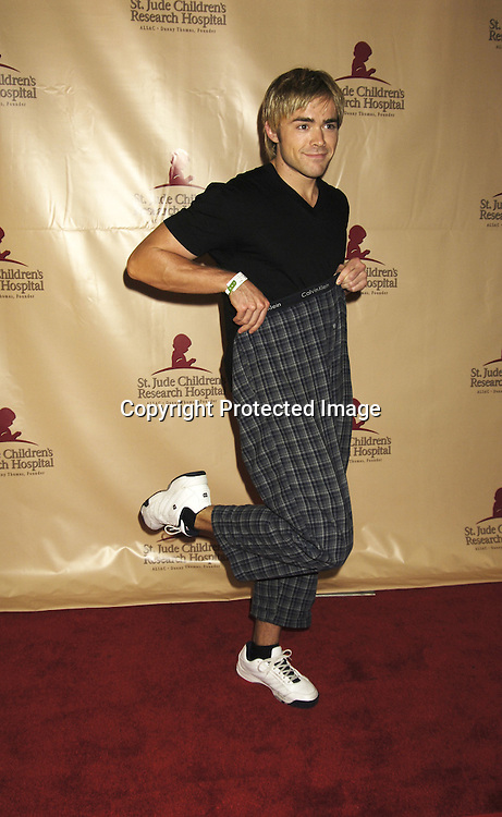 John-Paul Lavoisier of One Life to Live ..at the 11th Annual Daytime Television Salutes St. Jude Children's Research Hospital benefit hosted by Martha Byrne on October 14, 2005 at The New York Marriott Marquis Hotel. ..Photo by Robin Platzer, Twin Images