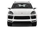 Car photography straight front view of a 2020 Porsche Cayenne Base 5 Door SUV