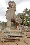 Lion Of Angkor Thom