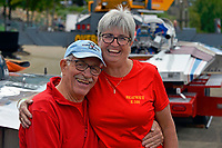 "Kathy & Harry Holst, E-160 ""Heatwave"" (1960's Whiteman 280 class cabover hydroplane)"