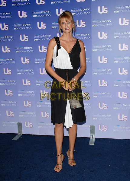 KYLIE BAX.Attends The US Weekly Magazine Hot Hollywood .Fresh 15 Party, held at Area in Los Angeles, .California, USA, September 21st 2006..full length black and white dress.Ref: DVS.www.capitalpictures.com.sales@capitalpictures.com.©Debbie VanStory/Capital Pictures