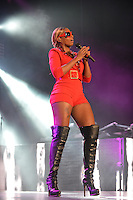 MIAMI, FL - AUGUST 30: Mary J Blige performs during The Liberation Tour at American Airlines Arena on August 30, 2012 in Miami, Florida.  (photo by: MPI10/MediaPunch Inc.) /NortePhoto.com<br />