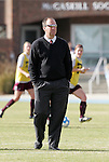 28 November 2008: Texas A&M head coach G Guerrieri. The University of North Carolina Tar Heels defeated the Texas A&M University Aggies 1-0 in double overtime at Fetzer Field in Chapel Hill, North Carolina in a Fourth Round NCAA Division I Women's college soccer tournament game.