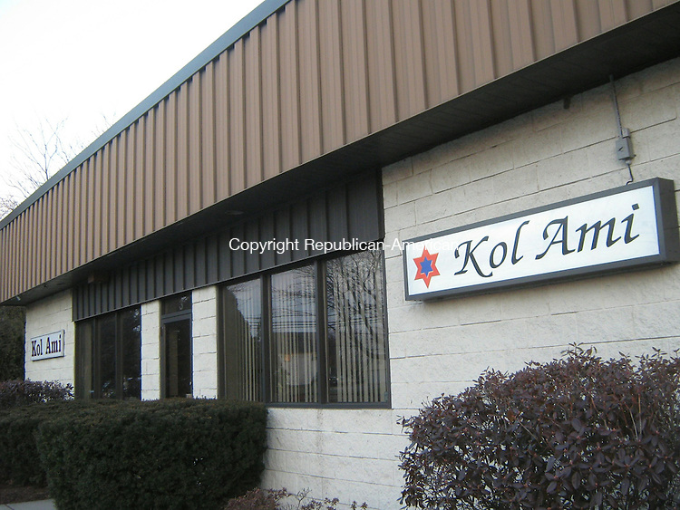 CHESHIRE, CT - Jan. 19, 2014 - 011914LX01 - Kol Ami, a conservative synagogue in the town's north end is closing its doors on June 30, according to a member of the lay leadership.