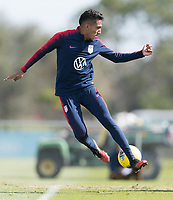 Jesus Ferreira of the United States shoots the ball