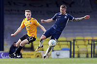 Jason Demetriou of Southend United and James Daly of Bristol Rovers during Southend United vs Bristol Rovers, Sky Bet EFL League 1 Football at Roots Hall on 7th March 2020