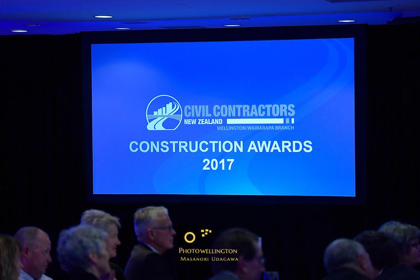 Wellington/Wairarapa Branch Construction Awards for Civil Contractors NZ at Amora Hotel, Wellington, New Zealand on Saturday 6 May 2017.<br /> Photo by Masanori Udagawa<br /> www.photowellington.photoshelter.com.