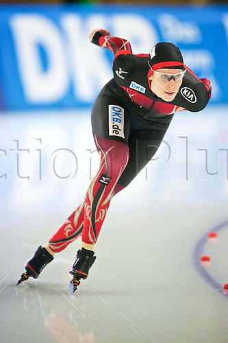 05.03.2016. Berlin Germany. World Championships of Speed skating.  3000  Women Roxanne Dufter ger