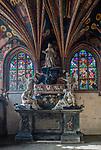 Nagrobek Kajetana Sołtyka, Kaplica Świętokrzyska w Katedrze na Wawelu.<br /> Kajetana Sołtyk's gravestone, Holy Cross Chapel in the Wawel Cathedral.