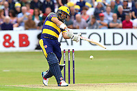 Jacques Rudolph in batting action for Glamorgan during Essex Eagles vs Glamorgan, NatWest T20 Blast Cricket at the Essex County Ground on 29th July 2016