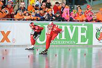 SCHAATSEN: BOEDAPEST: Essent ISU European Championships, 08-01-2012, 5000m Ladies, Natalia Czerwonka POL, ©foto Martin de Jong