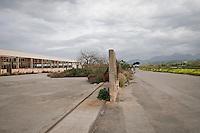 Industrial building in the hub of Termini Imerese, the hub built during the sixties is now falling apart.<br /> Zona Industriale di Termini Imerese, costruita negli anni 60'per accogliere la fabbrica della Fiat &egrave; adesso in totale abbandono.