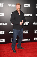 HOLLYWOOD, CA - OCTOBER 23: Michael Cudlitz at AMC Presents Live, 90-Minute Special Edition of 'Talking Dead' at Hollywood Forever on October 23, 2016 in Hollywood, California. Credit: David Edwards/MediaPunch
