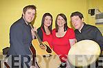 Fossa ballad group in Scor Sinseair at Keel Community Centre on Sunday l-r: Noel O'Sullivan, Helen, Shirley and Morgan Pierce.