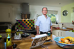 © Joel Goodman - 07973 332324 . 12/08/2016 . Wrexham , UK . Writer ERWIN JAMES posing in his home . Photo credit : Joel Goodman
