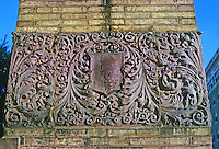 St. Louis: West End, Washington Terrace Gate--detail. 1894. (Sullivanesque?)  Photo '78.