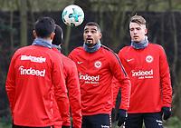Kevin-Prince Boateng (Eintracht Frankfurt) - 29.12.2017: Eintracht Frankfurt Training, Commerzbank Arena