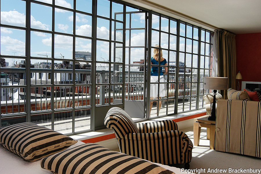 Bedroom view from the Soho Hotel, London - Time Out