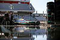 31st October 2019; Circuit of the Americas, Austin, Texas, United States of America; F1 United States Grand Prix, team arrival day;  Mechanic of Mercedes AMG Petronas Motorsport