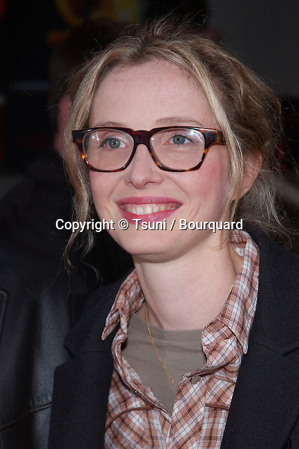 Julie Delpy  arriving at the premiere of Chelsea Walls at the Laemmle Sunset Theatre in Los Angeles. April 15, 2002.
