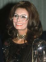 Sophia Loren 1984<br /> Photo By John Barrett/PHOTOlink.net / MediaPunch