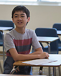 Fernley middle school student Sky Yi in Fernley, Nevada on Tuesday, July 18 2017.
