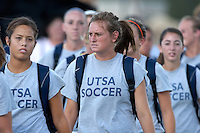 SAN ANTONIO, TX - AUGUST 25, 2006: The Texas Tech University Red Raiders vs. The University of Texas at San Antonio Roadrunners Women's Soccer at the UTSA Soccer Field. (Photo by Jeff Huehn)