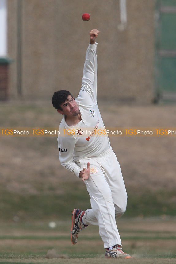 Joe Ellis-Grewel of Wanstead during Wanstead and Snaresbrook CC vs Colchester and East Essex CC, Shepherd Neame Essex League Cricket at Overton Drive on 1st September 2016