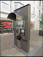 BNPS.co.uk (01202 558833)<br /> Pic: AmberleyPublishing/BNPS<br /> <br /> The Street Talk 6 (ST6) kiosk, introduced in 2007 by BT in partnership with JCDecaux.<br /> <br /> The iconic British phonebox has been given a ringing endorsement in a new book charting the expiring institution's fascinating history. <br /> <br /> Aptly titled 'The British Phonebox', the book primarily focuses on the ubiquitous design that's as emblematic to Britain as the black cab, double decker bus and Houses of Parliament. <br /> <br /> Equally interesting are the early chapters, which detail the phonebox's humble 19th century beginnings and the final ones, that bemoan their dwindling numbers <br /> <br /> The 96 page paperback, jointly authored by friends Nigel Linge and Andy Sutton, is published by Amberley and costs &pound;13.49.