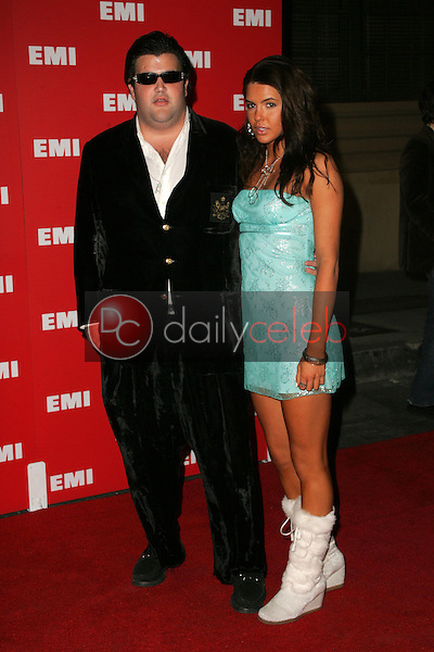 Jason Davis and Fontana<br />at EMI's Post-Grammy Bash. Paramount Studios, Hollywood, CA. 02-08-06<br />Dave Edwards/DailyCeleb.com 818-249-4998