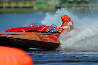 """Ron Snyder, E-4 """"Sir Ron III, (Albee built from Ron Jones plans, 280 class hydroplane)"""