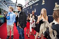 Utrecht, 28 september 2012.Nederlands Film Festival 2012, NFF.Junior Kalveren Gala, rode loper.Foto Felix Kalkman